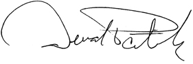Title: Governor Signature - Description: Governor Deval L. Patrick signature